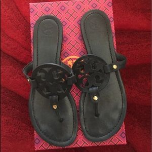 Tory Burch Ladies' Leather Miller Sandals